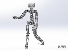 仿生人形机器人