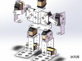 9自由度人型机器人