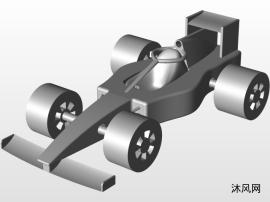 F1赛车结构