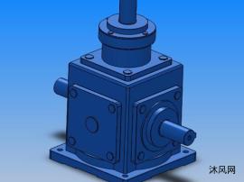螺旋锥齿轮转向箱模型 共7种型号