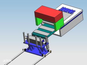 自动剪板机模型