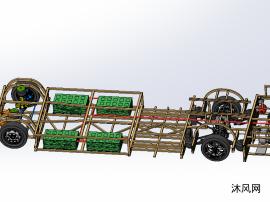 电动公交车内部结构模型