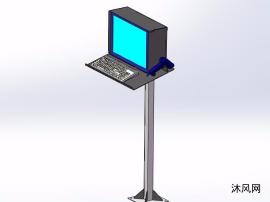 掃描儀監視器鍵盤設計模型
