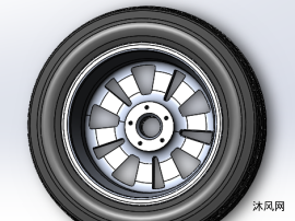 轮胎内支撑设计