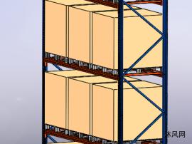 仓库四层重型货架