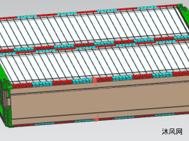 纯电动车电池模组