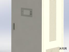 电控柜模型图