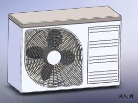 两款空调室外机模型