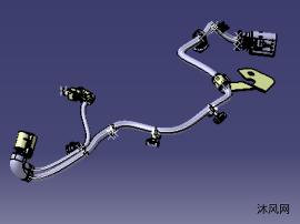 汽车底盘线束设计