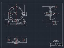 叶片转子油泵图纸