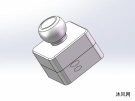 凸轮机构三维模型图