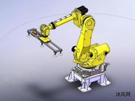 两款工业机器人模型
