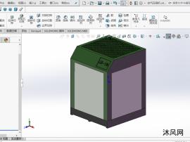 螺杆式空气压缩机设计模型图