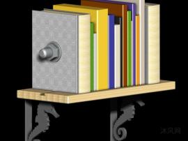 创意型书架设计模型