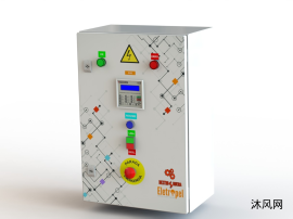 非标配电柜设计模型图