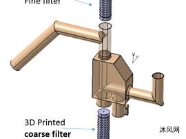 三通分流器设计模型