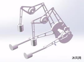 连杆机构设计模型