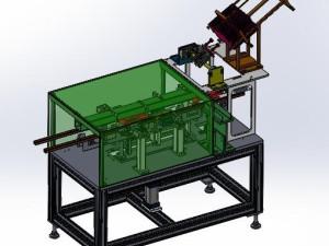 气动式全自动高速装盒机图纸