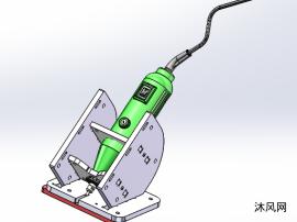 电钻sw模型图