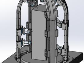 焊接机器人三维