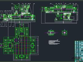 卧式铣床X-Y工作台设计(机+电)