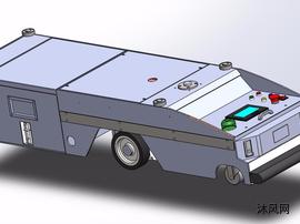 无轨导航背负式AGV