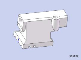 机床尾座模型