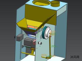 爐子滾筒傳動機構