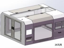 中小型自动化设备钣金罩壳设计