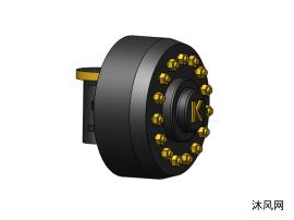 SolidWorks轮毂模子图