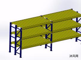 重型货架设计模型