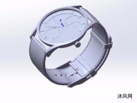 皮带手表设计模型