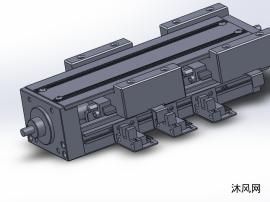 6种GSX60含盖板直线模组系列