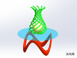 异形茶几3D模型设计