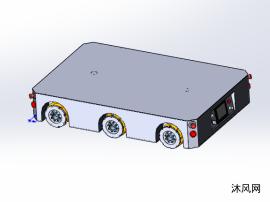 麦克纳姆轮AGV设计模型