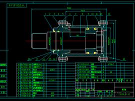 128-200吨液压缸