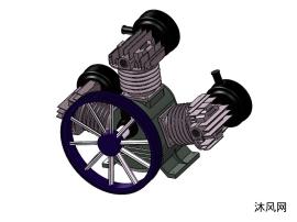 3缸空壓機高壓氣泵