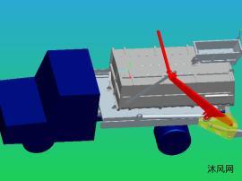 5立方摆臂垃圾车