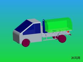 小型勾臂垃圾车