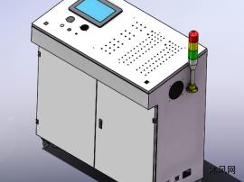 电气控制柜建模图