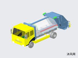 3800轴距压缩垃圾车