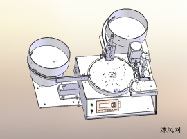 全自动灌装机模型图