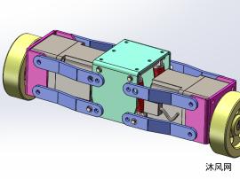 AGV驱动轮组模型