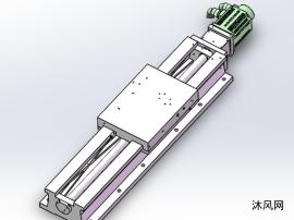URS300-1200-780数控单向矩形滑台