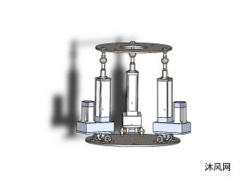 3RPS并联机器人模型