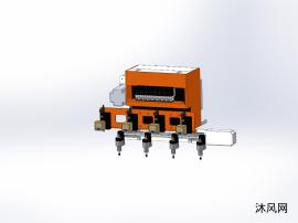 连接器包装机凸轮机械手