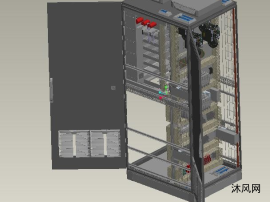 复杂配电柜模型
