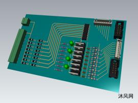 电动机智能驱动板设计模型