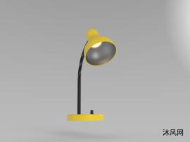 日常台灯三维模型