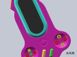 手持式游戏机模型设计图